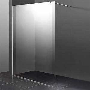 Paroi De Douche 120 : paroi fixe de 120 cm en 8mm pour douche de salle de bain ~ Dailycaller-alerts.com Idées de Décoration