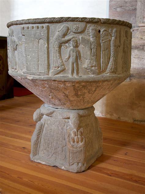 baptismal font wikipedia