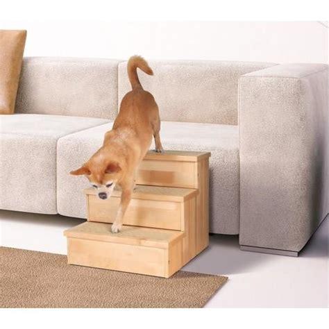 escalier bois pour chien et chat chien bless 233 handicap 233
