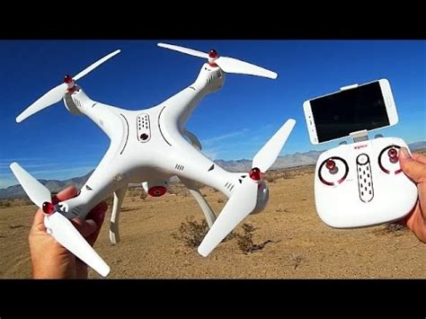 syma xsw large altitude hold fpv drone flight test review youtube