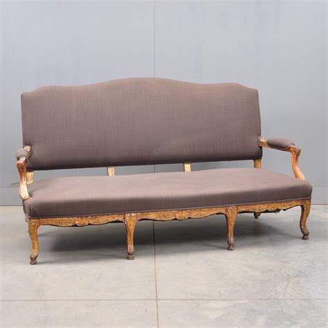 Louis Settee by Louis Xv Style Settee De Grande Antique Furniture
