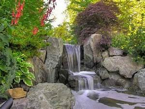 Fontaine Cascade Bassin : cascade bassin fontaine et tang conseils de r alisation ~ Premium-room.com Idées de Décoration