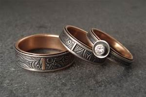 Down to the wire for unique handmade wedding rings for Homemade wedding rings