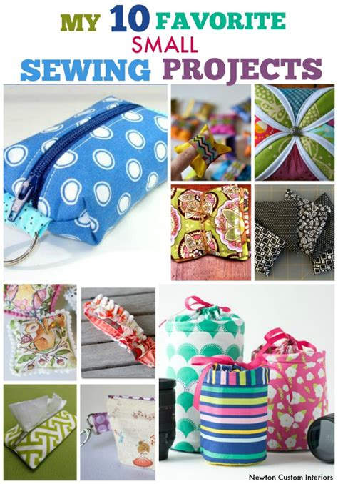favorite small sewing projects newton custom interiors
