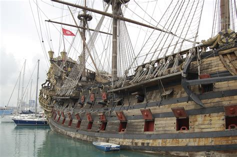 Boat Storage In Spanish by Real Pirate Ships