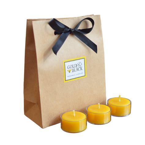beeswax tea lights bulk beeswax tea lights gold black beeswax candles
