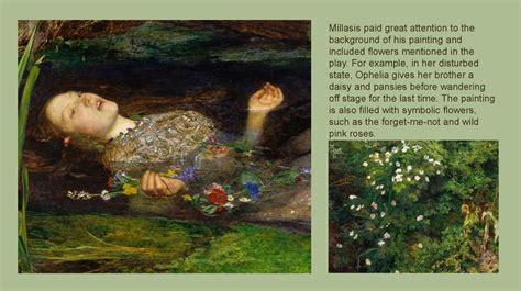 flower symbolism   pre raphaelite art prezentatsiya