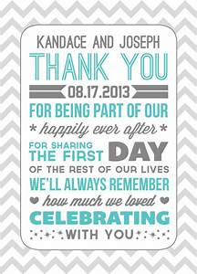 thank yous weddingbee photo gallery With wedding thank you letter