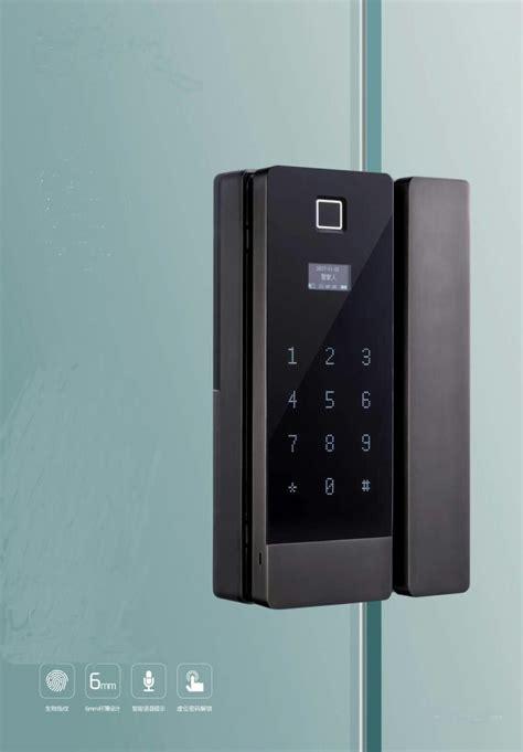 digital glass door lock  keyless access lockly mood