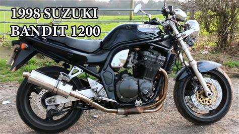 1998 Suzuki Bandit by 1998 Suzuki Bandit Gsf 1200 Motorcycle Review