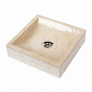 Waschbecken Eckig Klein : wohnfreuden marmor waschbecken 30 cm klein recht eckig ~ Watch28wear.com Haus und Dekorationen