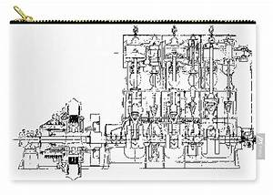 Steam Engine Diagram  Titanic  1911 Carry