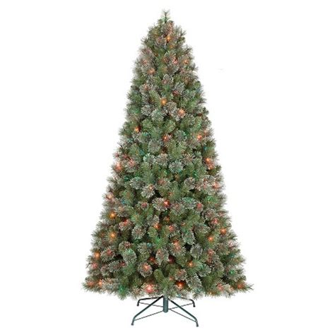 7 5 ft pre lit virginia pine artificial christm target