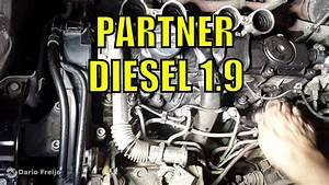 Cambiar Buj U00edas Peugeot Partner Diesel 1 9  Motor Dw8
