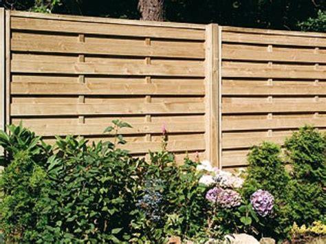 Horizontal Fence Panels. Horizontal Feather Edge Fence