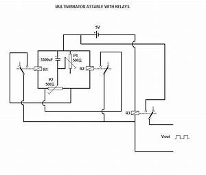 Relay U0026 39 S Circuits  Simple Oscillator With One Relay