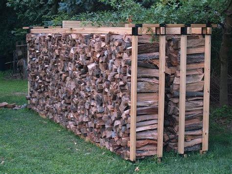 ideas  firewood rack plans  pinterest wood storage outdoor  firepit ideas