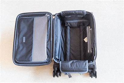 Luggage Carry Bag Platinum Upright Packing Garment