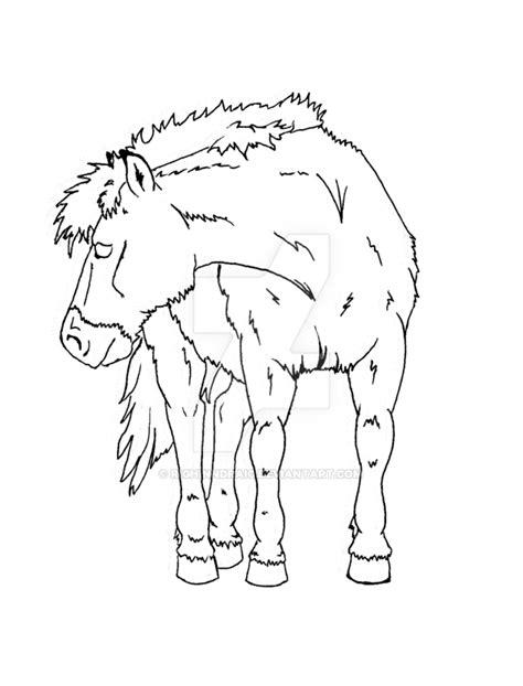 Przewalski's Horse Mare By Righinndraic On Deviantart