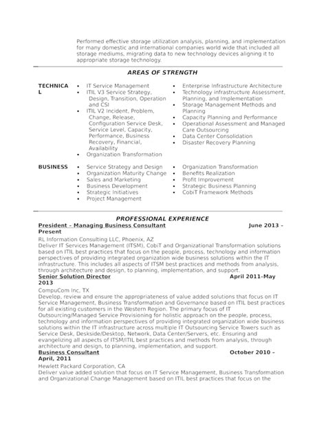 executive customer service manager resume template page 3