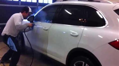 lavage de voiture a la vapeur avec vapro inc