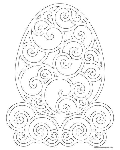 Kleurplaat Acanthus by искусство декорирования пасхальных яиц идеи и шаблоны