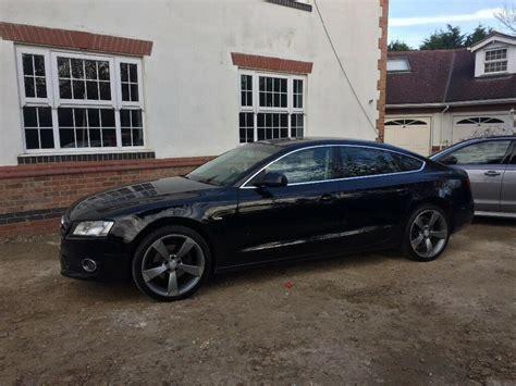 Audi A5 5 Porte by 2010 Audi A5 2 0 Tfsi Petrol Sportback 5 Door Black