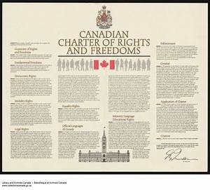 The Canadian Charter of Rights and Freedoms enshrines our ...