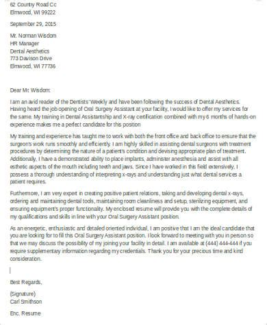 cover letter for dental practice 28 images ideas