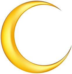 gold baby shower moon clip free images free clipart images 2
