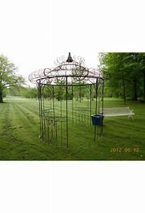 Arche De Jardin En Fer Forgé : gloriette ancienne affordable gloriette en fer forg with ~ Premium-room.com Idées de Décoration
