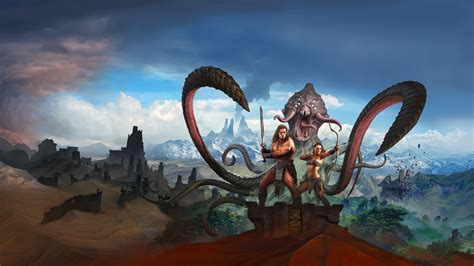 conan exiles key art hd wallpapers games wallpapers