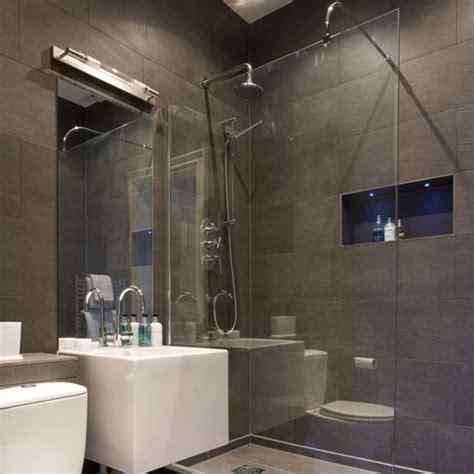 Led Lights Shower Room by Grey Slate Shower Room Shower Room Ideas To Inspire You