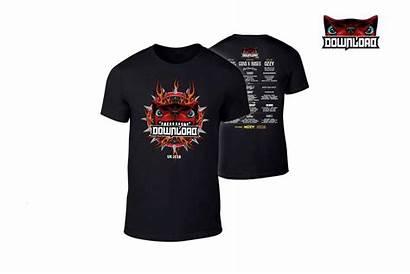 Shirt Rock Merchandise Festival Down Shorts