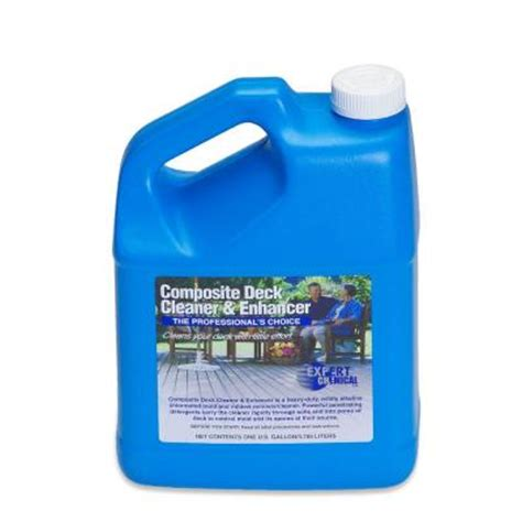 trex deck cleaner home depot expert chemical 128 oz composite deck cleaner and