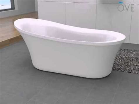 installation guidelines  ove freestanding bathtub
