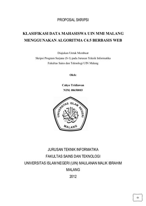 Contoh Proposal Ekonomi Syariah - Downlllll
