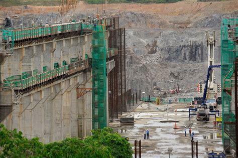 il cantiere della diga di belo monte che sommerger 224 i kayap 243 lifegate