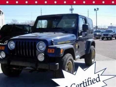 jeep eagle for sale 2006 jeep wrangler golden eagle package for sale