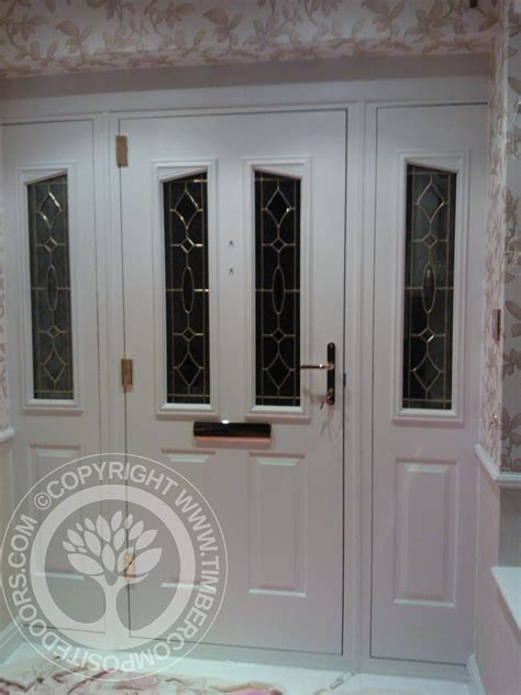 solidor white harlech composite door matching side