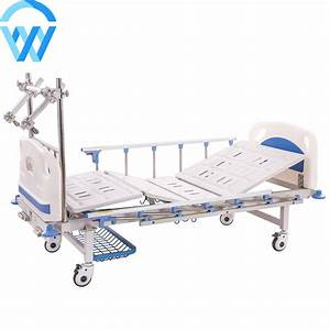 Two Functions Manual Medical Adjustable Orthopedic Beds