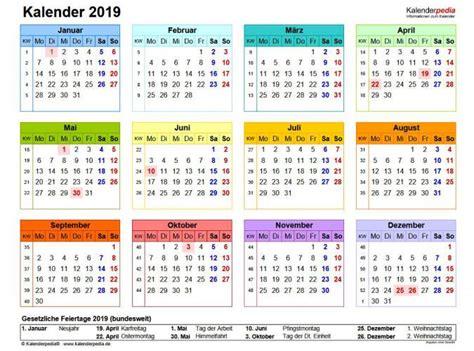 Kalender 2019 Pdf Download