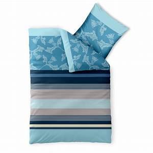 Bettwäsche Blau Beige : bettw sche garnitur baumwolle trend 155x220 isabis blau beige ~ Markanthonyermac.com Haus und Dekorationen