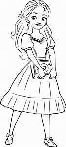 elena of avalor coloring pages - coloriage princesse isabel elena d avalor imprimer