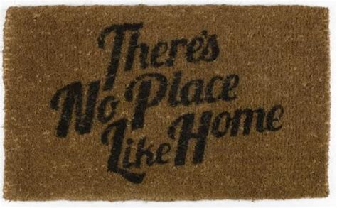 theres no place like home doormat theres no place like home doormat cosas stuff casitas