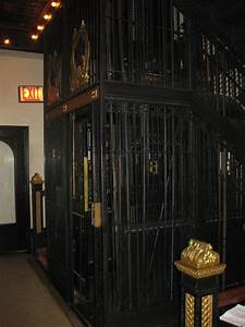 Old Manual Elevator