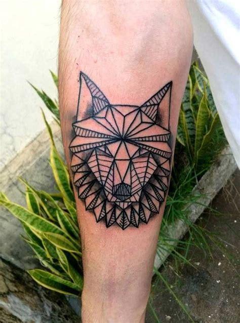 amazing geometric dotwork wolf tattoos tattooblend