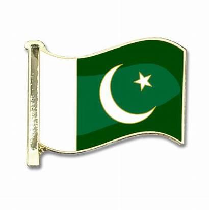 Pakistan Flag Badge Badges