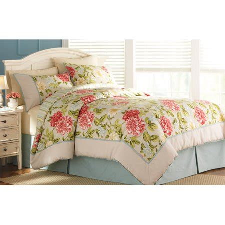 better homes and gardens quilt sets better homes and gardens peony bedding comforter set