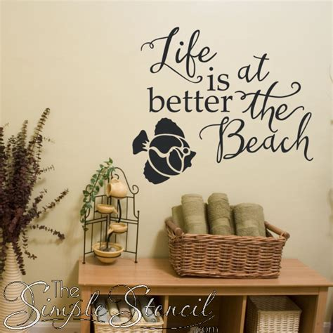 House With Nautically Themed Folk by Is Better At The Vinyl Wall Sticker Decal For